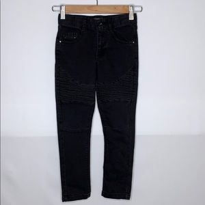 Kid Girls black Mossimo jeans size 5